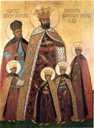 Balada Sfantului Voievod Martir Constantin Brancoveanu